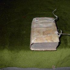 Libros antiguos: DECON-STITVTIONI-PERGAMINO-AÑO 1563. Lote 53409901