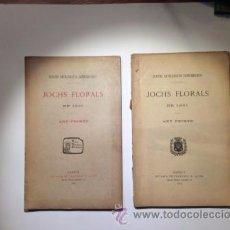 Libros antiguos: JOCHS FLORALS DE 1901. CENTRE CATALANISTA SARRIANENCH. Lote 53440831