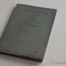 Libros antiguos: ANUARI D'ESTADÍSTICA SOCIAL DE CATALUNYA 1912. Lote 53444545