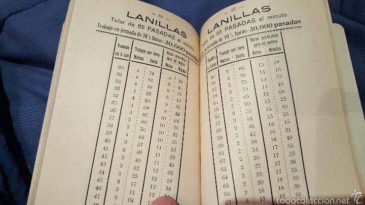 Libros antiguos: Tarifas de trabajo para tejedores mecánicos. Alcoy, Alicante. 1915. Raro!! - Foto 6 - 53497627