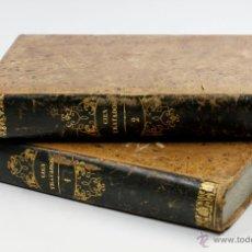 Libros antiguos: INSTRUCCIÓN PARA EL PUEBLO, 100 TRATADOS SOBRE CONOCIMIENTOS, 2 TOMOS 17X25,5CM. MADRID, AÑO 1851.. Lote 53526301
