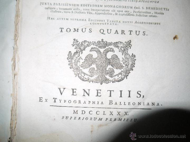 Libros antiguos: SANCTI PATRIS JOANNIS CHRYSOSTOMI ARCHIEPISCOPI CONSTANTINOPOLITANI OPERA OMNIA, 1780. - Foto 6 - 53535948