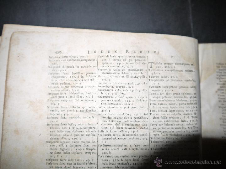 Libros antiguos: SANCTI PATRIS JOANNIS CHRYSOSTOMI ARCHIEPISCOPI CONSTANTINOPOLITANI OPERA OMNIA, 1780. - Foto 14 - 53535948