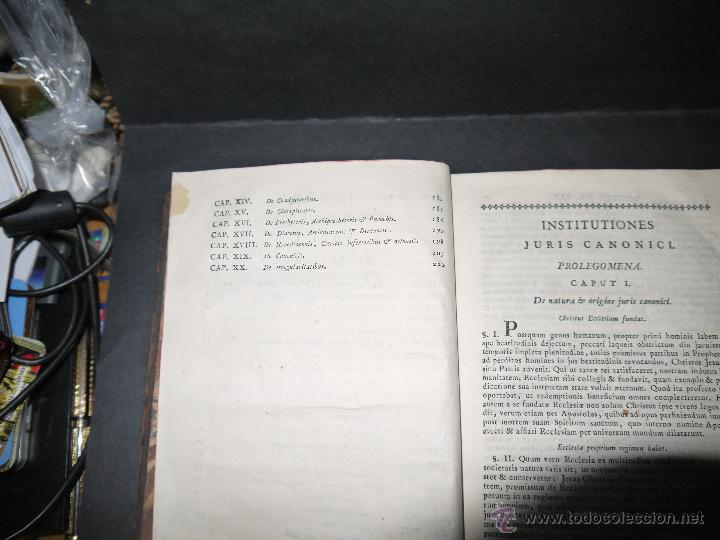 Libros antiguos: INSTITUCIONES JURIS CANONICI IN TRES PARTES, AC SEX TOMOSDISTRUBUETAE,QUIBUS,A DOMINICO CAVALLARIO. - Foto 10 - 53536943