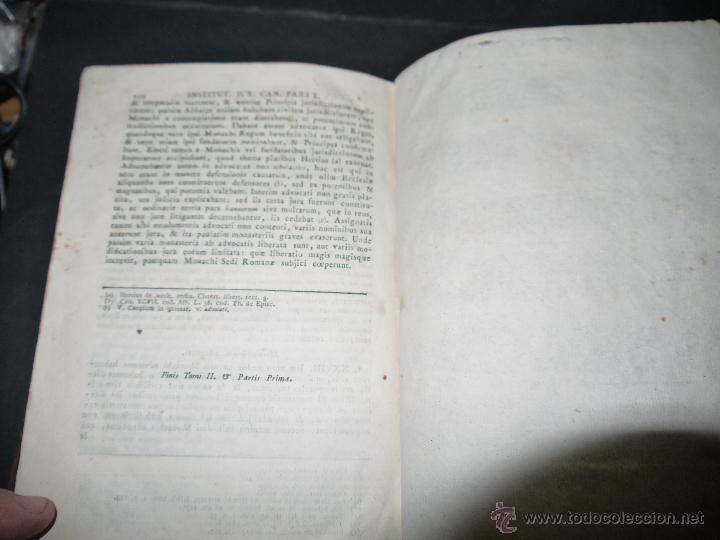 Libros antiguos: INSTITUCIONES JURIS CANONICI IN TRES PARTES, AC SEX TOMOSDISTRUBUETAE,QUIBUS,A DOMINICO CAVALLARIO. - Foto 13 - 53536943