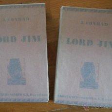 Libros antiguos: JOSEPH CONRAD: LORD JIM. Lote 53579955