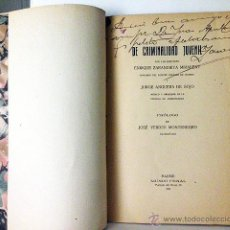 Libros antiguos: ´DE CRIMINALIDAD JUVENIL´. 1917. E ZARANDIETA. AUTÓGRAFO. DELINCUENCIA, TRIBUNALES DE MENORES, ETC. Lote 53641017