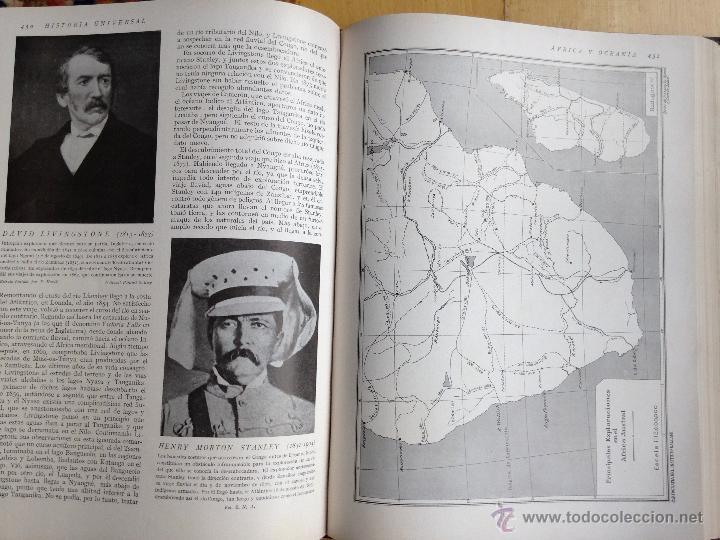 Libros antiguos: historia universal 6 vol. instituto gallach. Barcelona.1931 - Foto 6 - 53677922