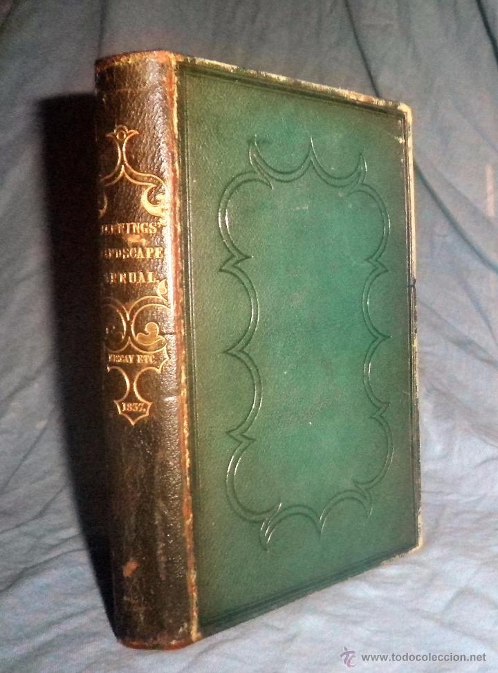 THE TOURIST IN SPAIN - 1º EDICION AÑO 1837 - THOMAS ROSCOE - VIZCAYA Y CASTILLA. (Libros Antiguos, Raros y Curiosos - Historia - Otros)