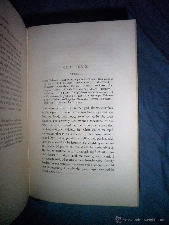 Libros antiguos: THE TOURIST IN SPAIN - 1º EDICION AÑO 1837 - THOMAS ROSCOE - VIZCAYA Y CASTILLA. - Foto 5 - 53683325