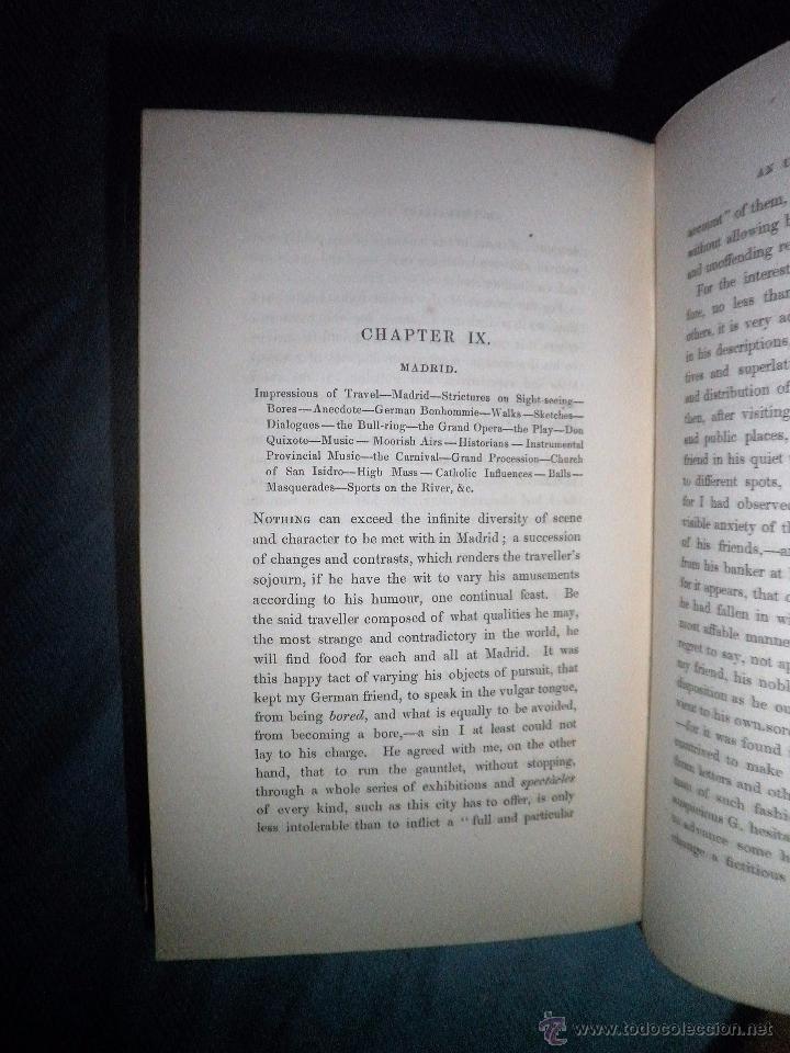 Libros antiguos: THE TOURIST IN SPAIN - 1º EDICION AÑO 1837 - THOMAS ROSCOE - VIZCAYA Y CASTILLA. - Foto 6 - 53683325