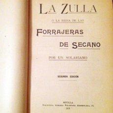 Libros antiguos: FORRAJERAS: LA ZULLA; LA ALFALFA; LA MIELGA; EL LADINO; EL TRÉBOL; LA VEZA; LA ESPARCETA; ETC. 1907. Lote 53689565