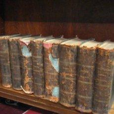 Libros antiguos: HISTORIA GENERAL DE ESPAÑA, PADRE MARIANA 8 TOMOS COMPLETA 1867 -69 MANUEL RODRIGUEZ EDITOR AZE5. Lote 53698571