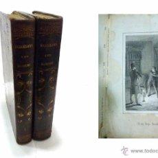 Libros antiguos: ALTADILL,ANTONIO- BARCELONA Y SUS MISTERIOS DOS TOMOS OBRA COMPLETA- AÑO 1.860. Lote 53701384