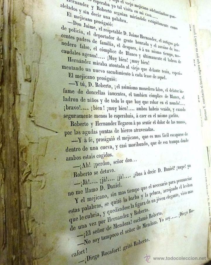 Libros antiguos: ALTADILL,ANTONIO- BARCELONA Y SUS MISTERIOS DOS TOMOS OBRA COMPLETA- AÑO 1.860 - Foto 5 - 53701384