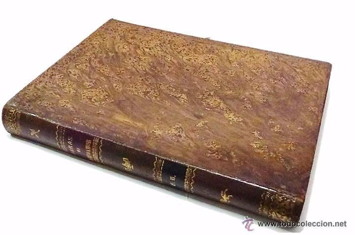 RAMON DE CAMPOAMOR, OBRAS COMPLETAS-ILUSTRACIONES MODERNISTAS DE J.LUIS PELLICER- AÑO 1.888 (Libros Antiguos, Raros y Curiosos - Literatura - Otros)