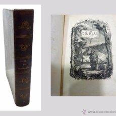 Libros antiguos: ALAIN RENE LESAGE, AVENTURAS DE GIL BLAS DE SANTILLANA- AÑO 1.852. Lote 53710107