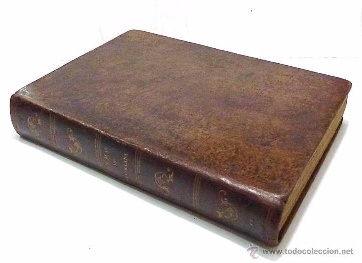 Libros antiguos: ALAIN RENE LESAGE, AVENTURAS DE GIL BLAS DE SANTILLANA- AÑO 1.852 - Foto 2 - 53710107