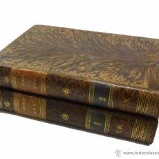 Libros antiguos: ALVARO CARRILLO- EL PRIMER AMOR- NOVELA DE COSTUMBRES-DOS TOMOS-AÑO 1.877. Lote 53718230