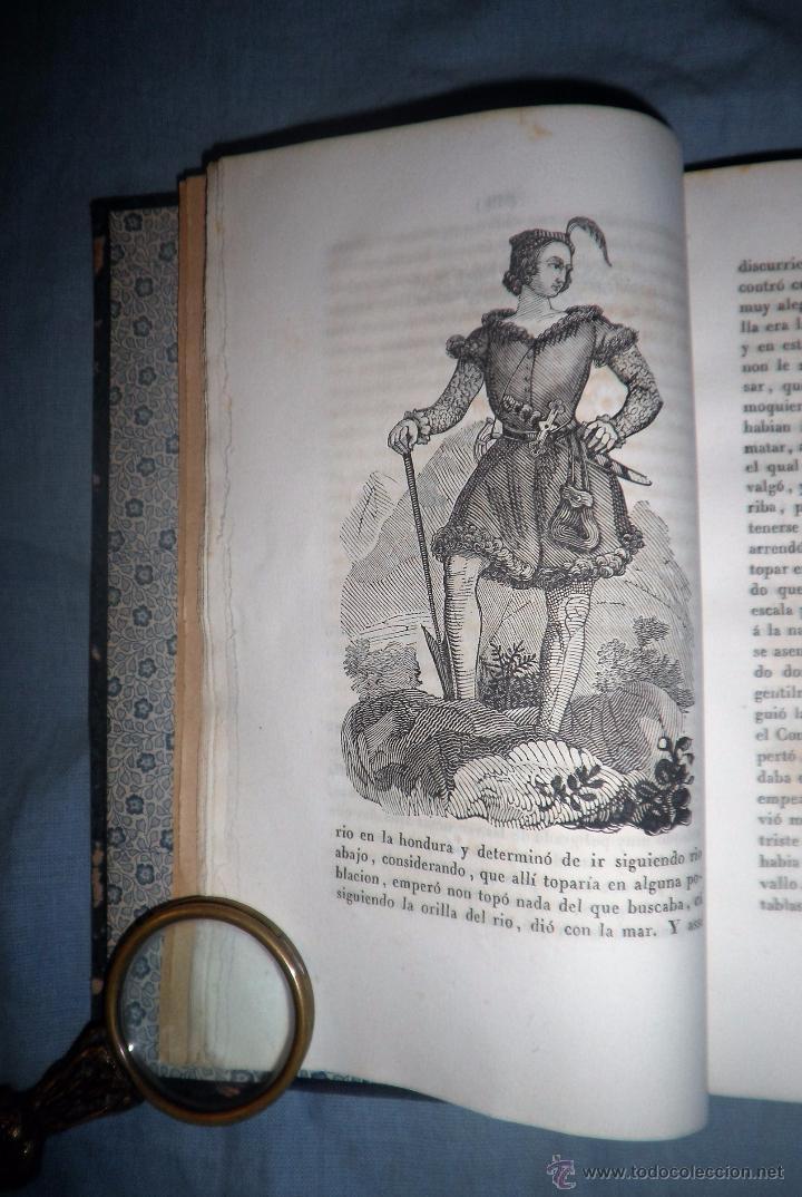 Libros antiguos: HISTORIA DEL ESFORÇADO CABALLERO PARTINOBLES - 1ª EDICION CASTELLANA AÑO 1842 - BELLOS GRABADOS. - Foto 6 - 53730026