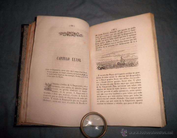 Libros antiguos: HISTORIA DEL ESFORÇADO CABALLERO PARTINOBLES - 1ª EDICION CASTELLANA AÑO 1842 - BELLOS GRABADOS. - Foto 7 - 53730026