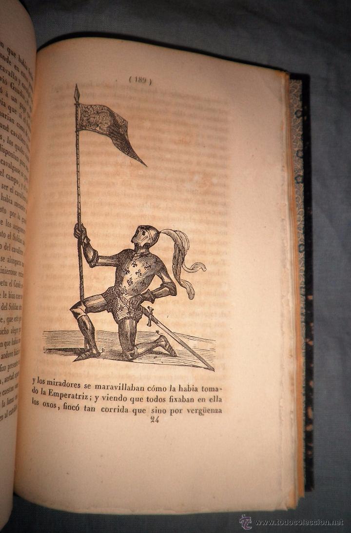 Libros antiguos: HISTORIA DEL ESFORÇADO CABALLERO PARTINOBLES - 1ª EDICION CASTELLANA AÑO 1842 - BELLOS GRABADOS. - Foto 8 - 53730026