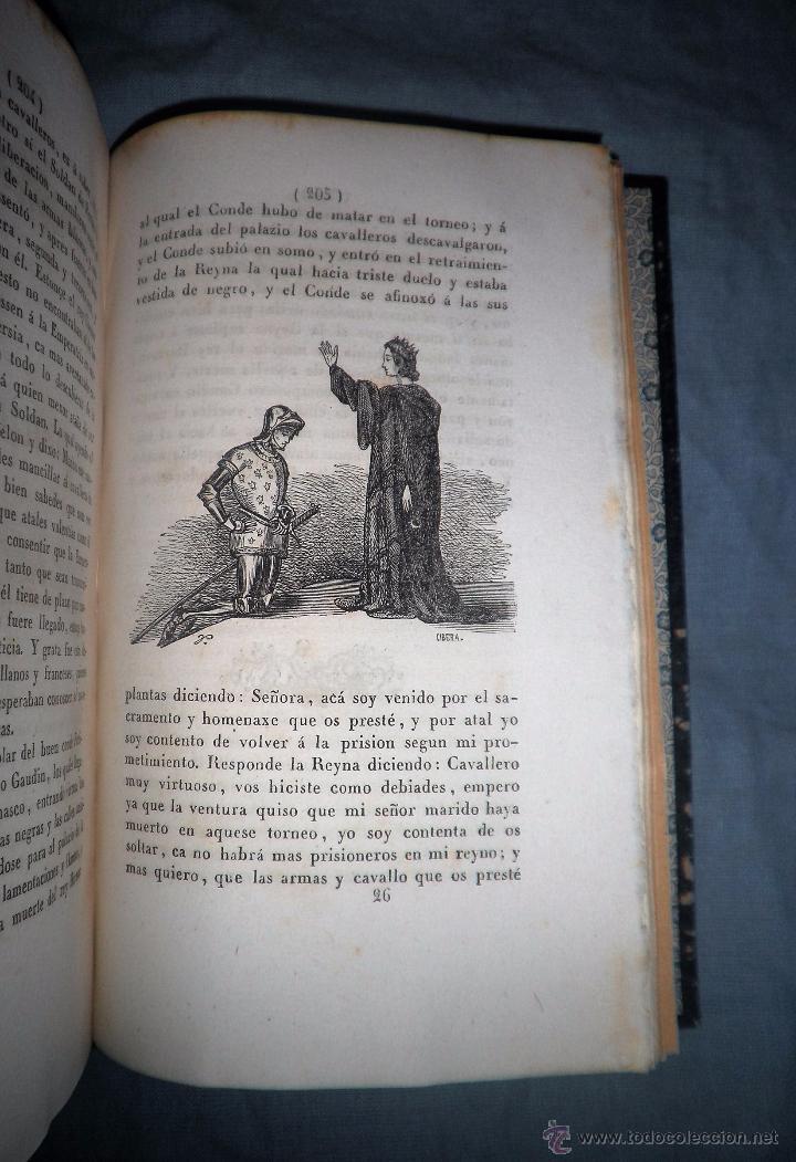 Libros antiguos: HISTORIA DEL ESFORÇADO CABALLERO PARTINOBLES - 1ª EDICION CASTELLANA AÑO 1842 - BELLOS GRABADOS. - Foto 9 - 53730026