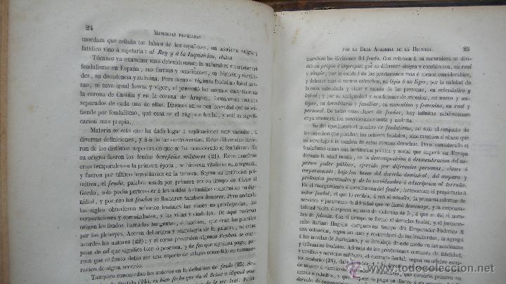 Libros antiguos: JUICIO CRÍTICO DEL FEUDALISMO EN ESPAÑA. ANTONIO DE LA ESCOSURA Y HEVIA. 1856. - Foto 3 - 53799985