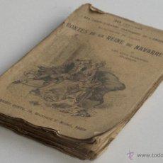Libros antiguos: CONTES DE LA REINE DE NAVARRE - MARGUERITE DE VALOIS. Lote 53800641