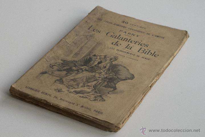 LES GALANTERIES DE LA BIBLE - PARNY (Libros Antiguos, Raros y Curiosos - Otros Idiomas)