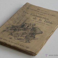 Libros antiguos: LES GALANTERIES DE LA BIBLE - PARNY. Lote 53800772