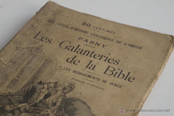 Libros antiguos: Les Galanteries de la Bible - Parny - Foto 2 - 53800772
