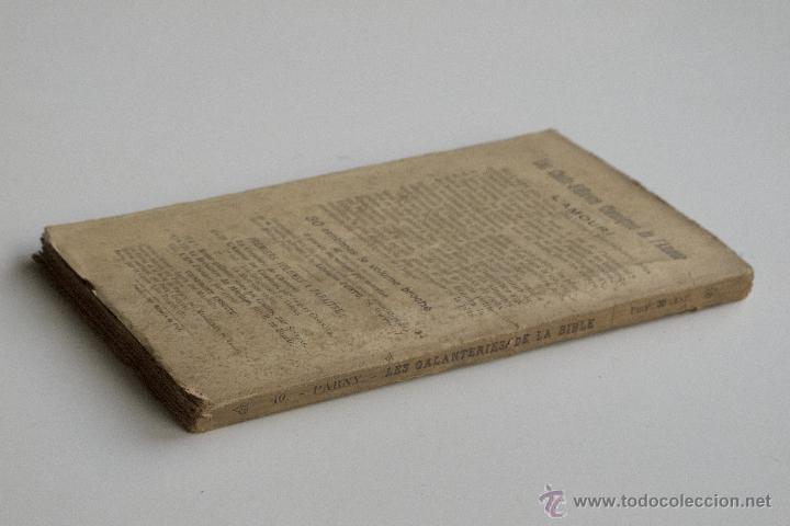 Libros antiguos: Les Galanteries de la Bible - Parny - Foto 6 - 53800772