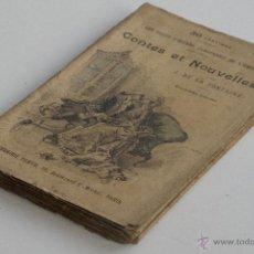 Libros antiguos: CONTES ET NOUVELLES VOL. II - J. DE LA FONTAINE. Lote 53800849