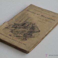 Libros antiguos: CONTES ET NOUVELLES VOL. I - J. DE LA FONTAINE. Lote 53800916