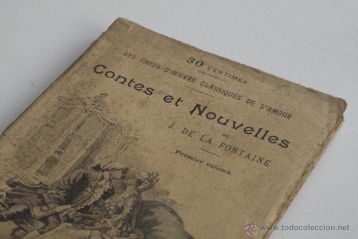 Libros antiguos: Contes et Nouvelles Vol. I - J. de la Fontaine - Foto 2 - 53800916