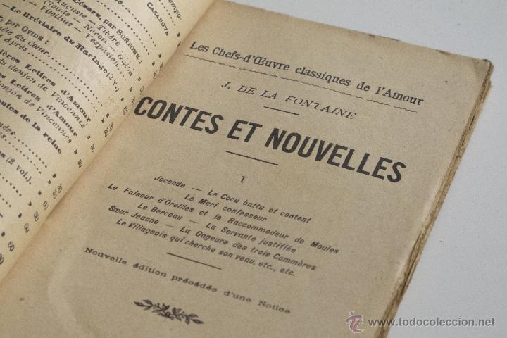 Libros antiguos: Contes et Nouvelles Vol. I - J. de la Fontaine - Foto 3 - 53800916