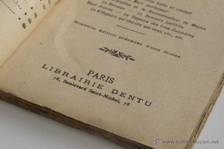 Libros antiguos: Contes et Nouvelles Vol. I - J. de la Fontaine - Foto 4 - 53800916
