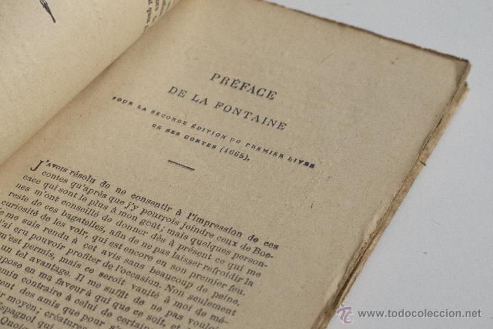 Libros antiguos: Contes et Nouvelles Vol. I - J. de la Fontaine - Foto 5 - 53800916
