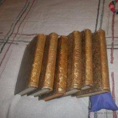 Libros antiguos: REFLEXIONES SOBRE LA NATURALEZA -M. STURM TRADUCIDAS DEL ALEMAN POR D. TOMAS CUCHI 6 TOMOS 1851 1852. Lote 53873408