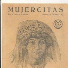 Libros antiguos: MUJERCITAS. REVISTA LITERARIA Nº 23. AÑO 1929.. Lote 53894306