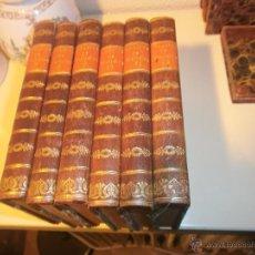 Libros antiguos: THEATRE DE VOLTAIRE EDITION STEREOTYPE DE DIRMIN DIDOT PARIS 1813 6 TOMOS DEL 7 AL 12. Lote 53894863