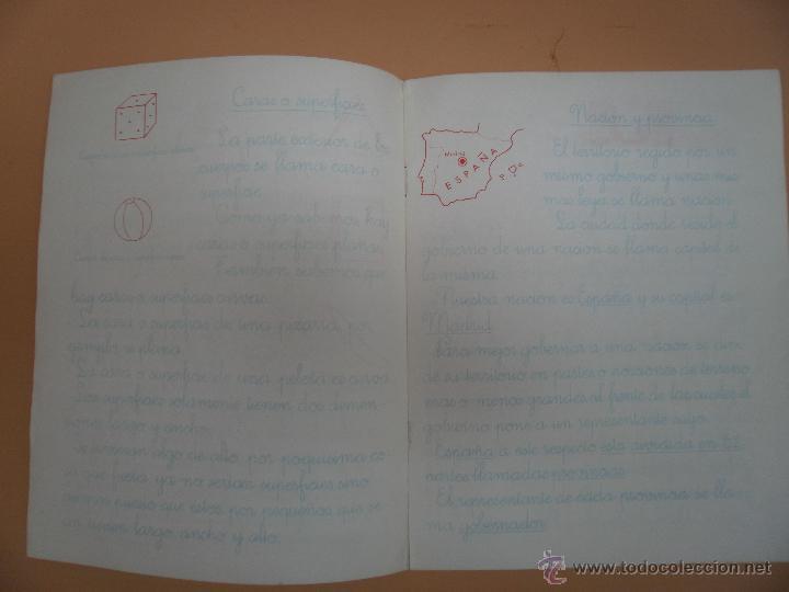 Libros antiguos: LIBRETA COPIO CAMPANILLAS 3 DE EGB NUMERO 10 - Foto 2 - 53899721