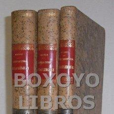 Libros antiguos: BENOT, EDUARDO [GRANADA, 1822]. ARQUITECTURA DE LAS LENGUAS. TOMOS I-II Y III. Lote 53862045