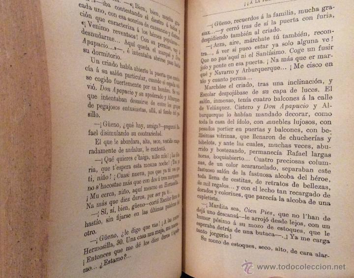 Libros antiguos: Libro toros ¡¡A la plaza!!, de Antonio Guardiola 1915 - Foto 5 - 53989216