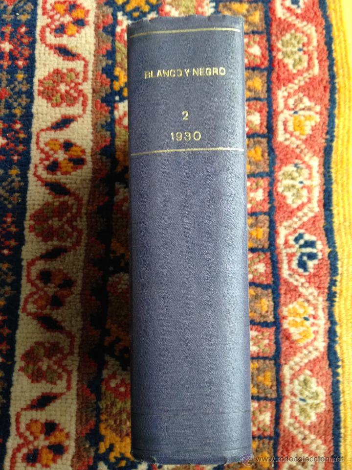 LOTE DE 13 REVISTAS BLANCO Y NEGRO EN CUADERNADAS(Nº 2029 A 2041), AÑOS 30. (Libros Antiguos, Raros y Curiosos - Bellas artes, ocio y coleccionismo - Otros)