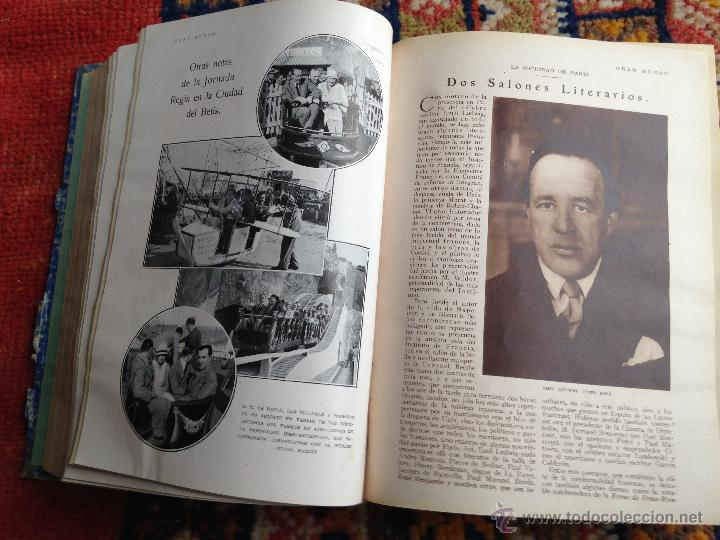 Libros antiguos: lote de 13 revistas Blanco y negro en cuadernadas(nº 2029 a 2041), años 30. - Foto 3 - 54008419