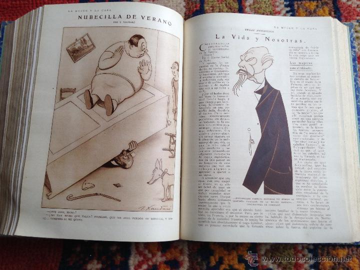 Libros antiguos: lote de 13 revistas Blanco y negro en cuadernadas(nº 2029 a 2041), años 30. - Foto 4 - 54008419