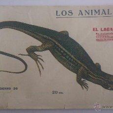 Libri antichi: LOS ANIMALES, CUADERNO Nº 26 - EL LAGARTO, IMPRENTA PRENSA POPULAR AÑO 1919. Lote 54025198