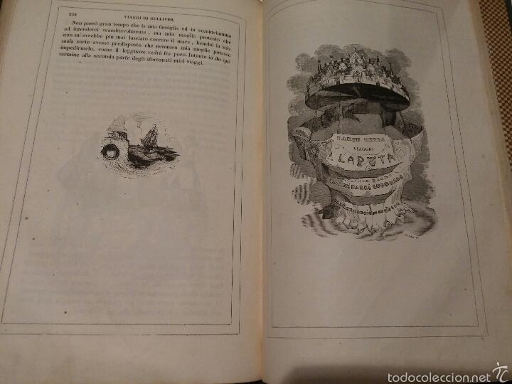 Libros antiguos: VIAJES DE GULLIVER - GIONATAN SWIFT - 1842 - MILAN - ITALIANO - 328 - Foto 2 - 54064776